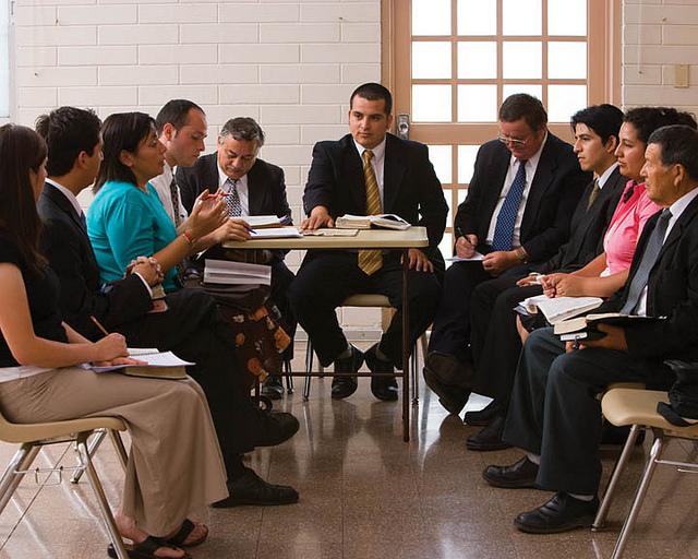 Mormon Leadership meeting