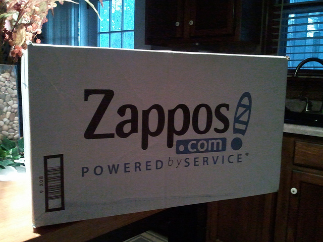 A box from Zappos!