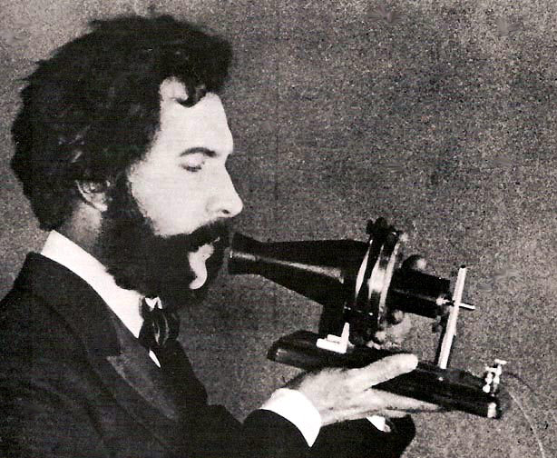 Alexander Graham Bell's original telephone