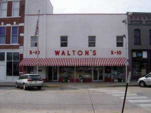 Tradition is important at Wal-Mart. Sam Walton's original Walton's Five and Dime is now the Wal-Mart Visitor's Center in Bentonville, Arkansas