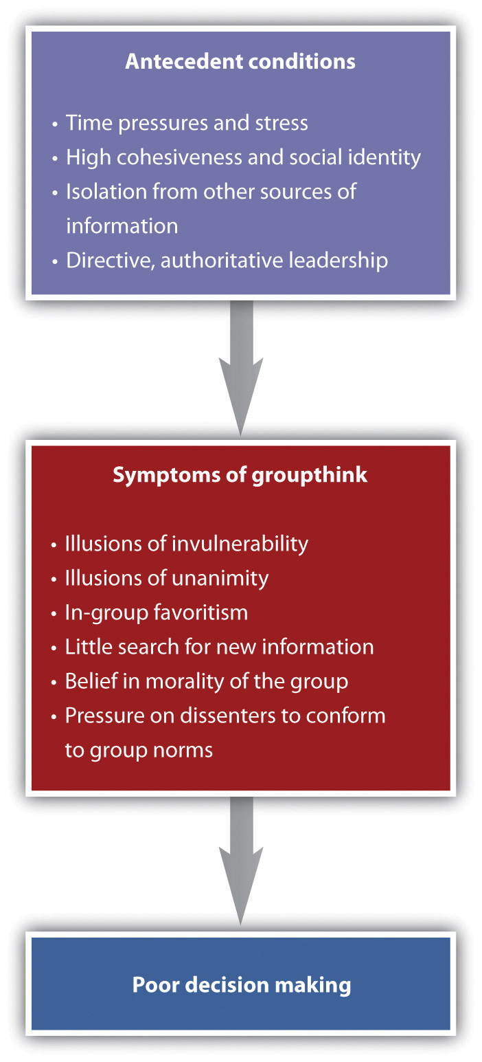 Causes and Outcomes of Groupthink
