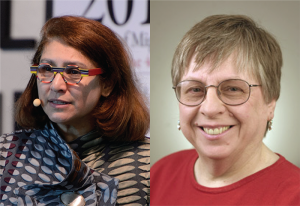 Left: Mahzarin Banaji, Right: Linda Bartoshuk.
