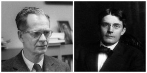 Left: John B. Watson, Right: B. F. Skinner