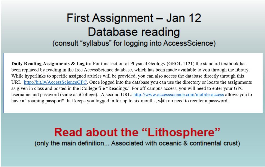 Figure 1:First Assignment