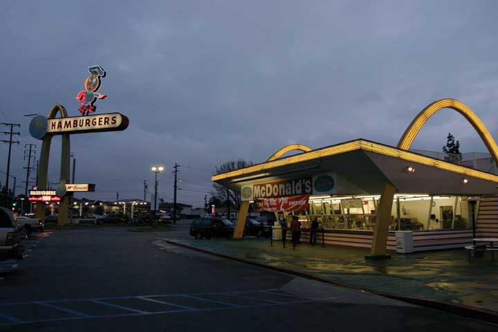 The oldest operating McDonald's (California)