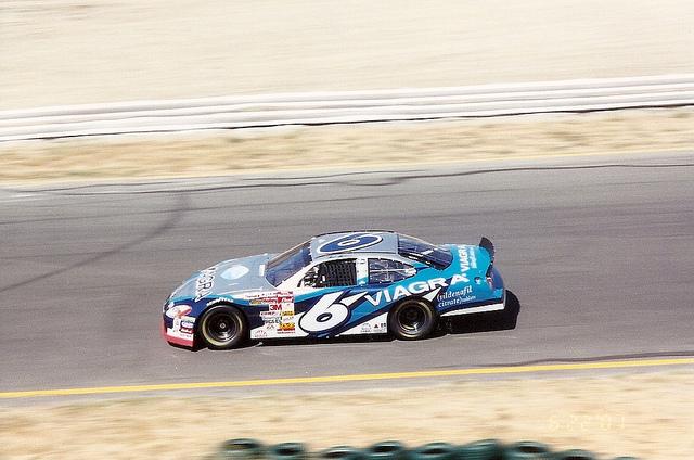 Pfizer's Viagra NASCAR car