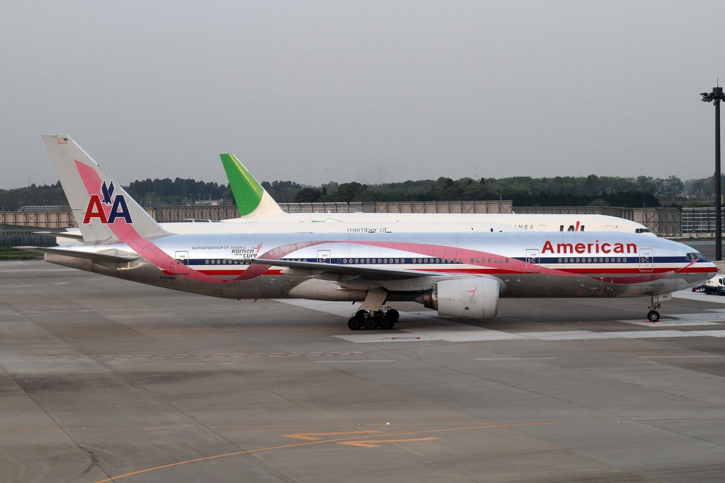 An American Airlines Boeing 747