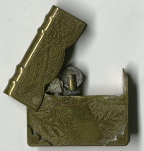 An old trench art lighter