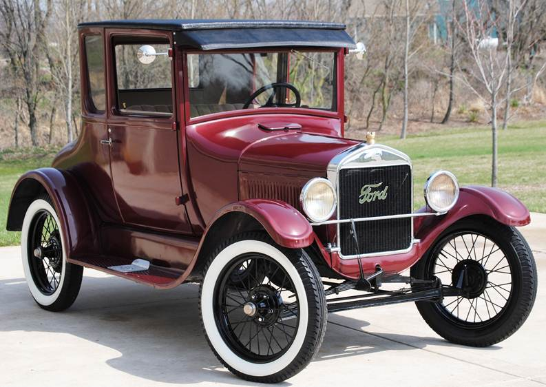 Red Ford Model T