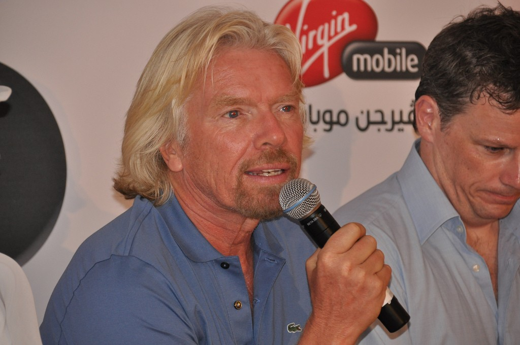 Richard Branson of Virgin Mobile