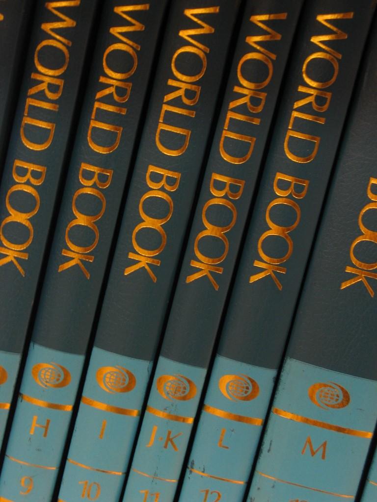 World Book Encyclopedias