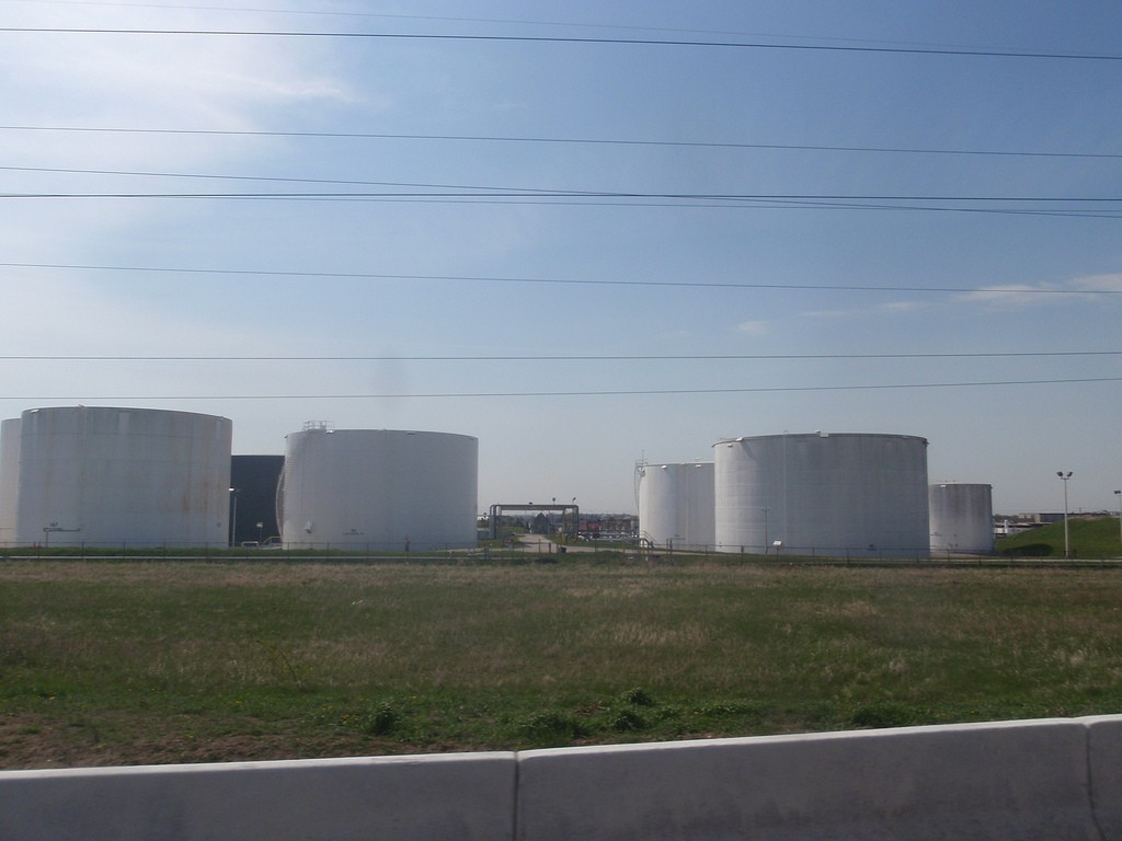 Oil storage in Cushing, Oklahoma